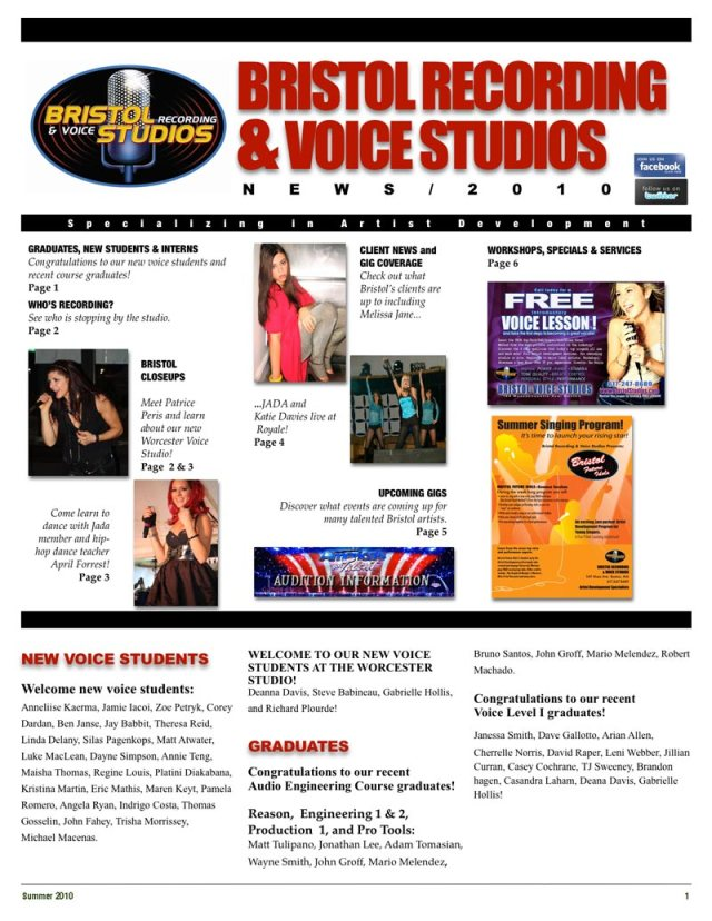 Summer newsletter1