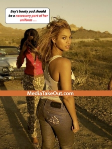 The Beyonce Butt Pad Debate Continues