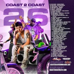 Coast2Coast Instrumentals Vol 26 [mp3 Download]