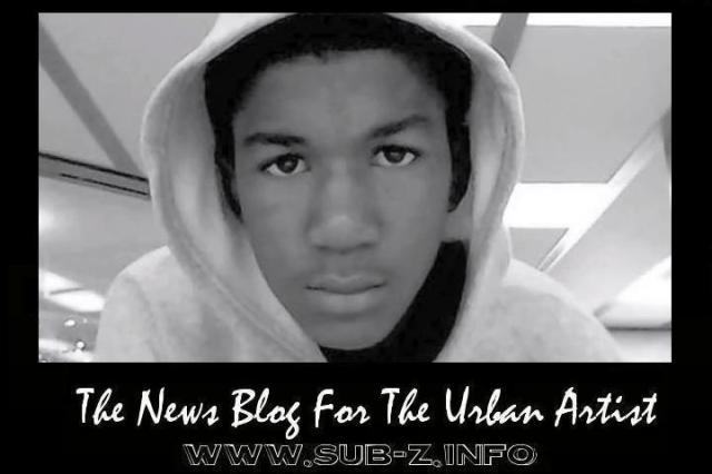 17 year old Trayvon Martin (shot and killed in February 2012 by George Zimmerman)