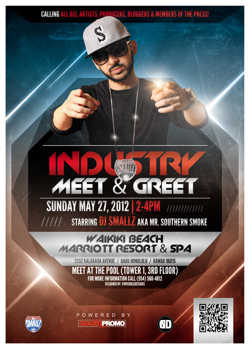 DJ Smallz Industry Meet and Greet