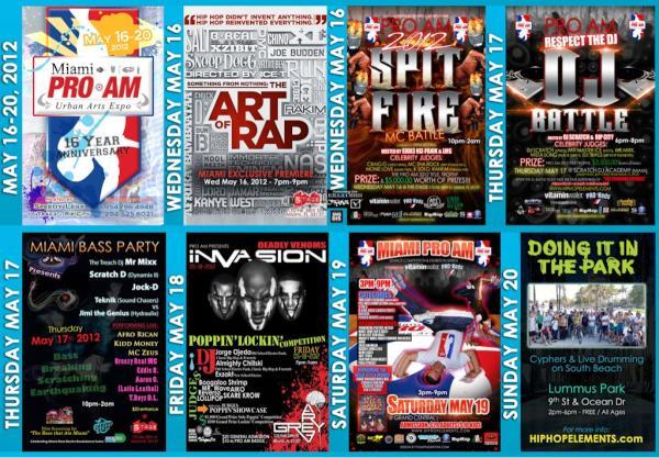 Miami PRO AM 2012 [MAY 16+17]