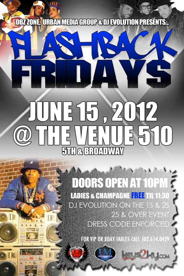 Flashback Fridays At The Venue [Louisville Kentucky]