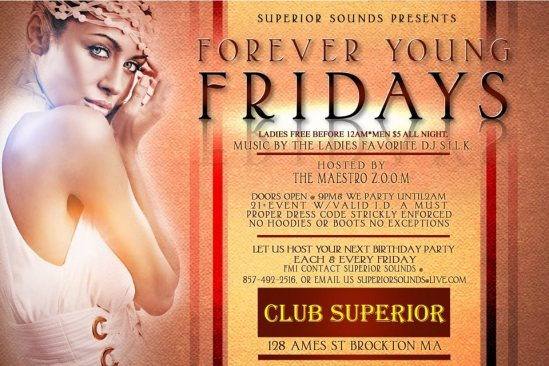 Forever Young Fridays [BedRock MA]