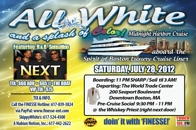 Boston Midnight Harbor Cruise [Special Guest NEXT]