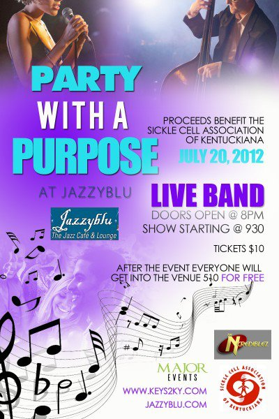 Sickle Cell Benefit At Jazzyblu [7-20-12]