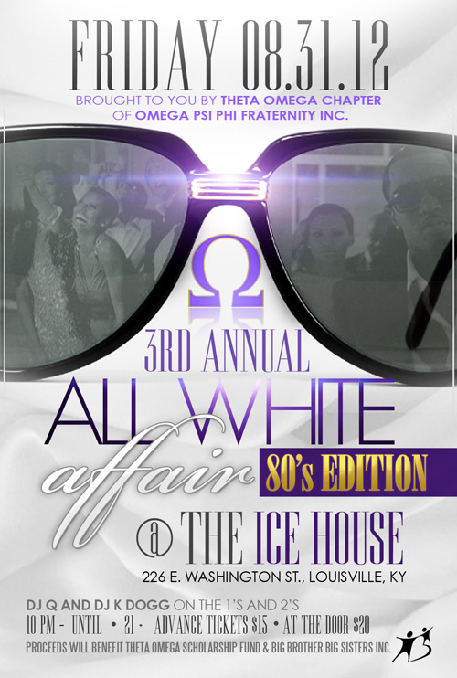 80's Edition All White Affair [Labor Day Weekend]