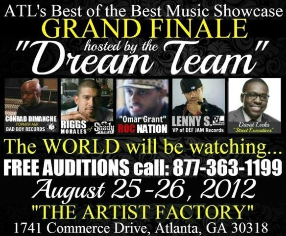 Music Showcase Hosted by Def Jam VP Lenny S, Roc Nation