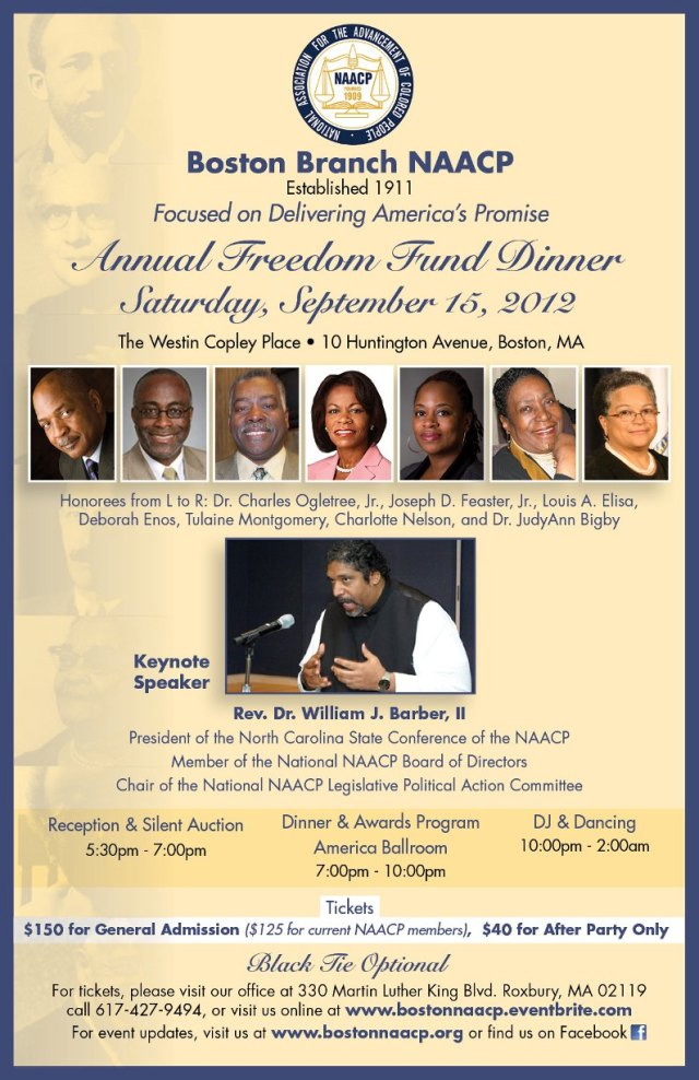 Boston NAACP Freedom Fund Dinner