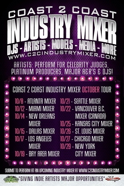 Coast 2 Coast Industry Mixers [October 2012]