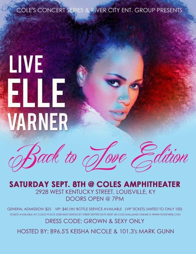 Elle Varner Performing Live 2 Cole's Amphitheater [Sept. 8]