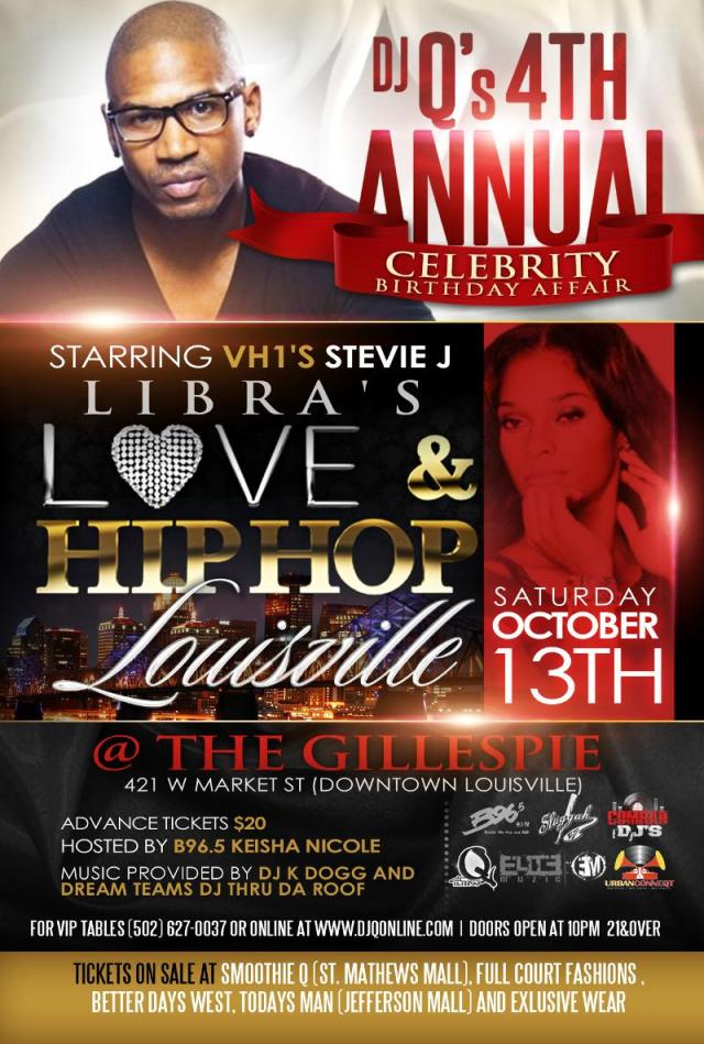 Love & Hiphop Libra Party in Louisville.KY
