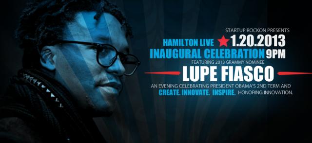 Lupe Fiasco Inaugural Celebration1