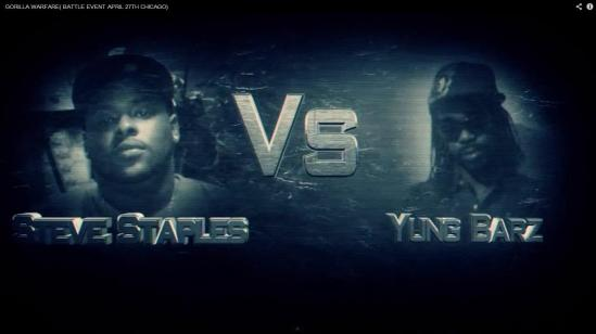 Steve Staples VS Yung Barz