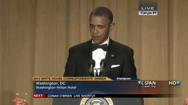 White House Correspondence Dinner 2013-1
