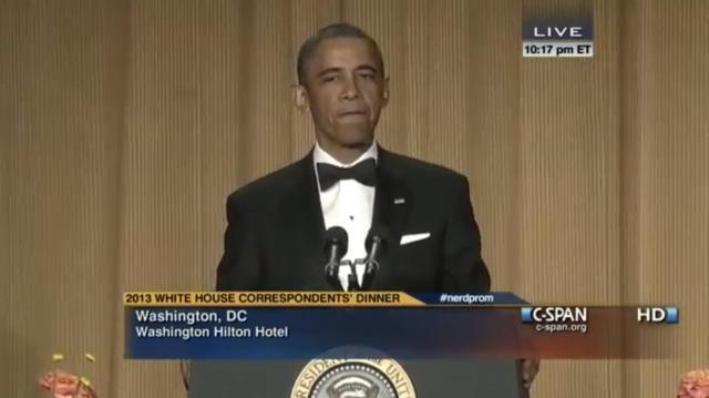 White House Correspondence Dinner 2013-2