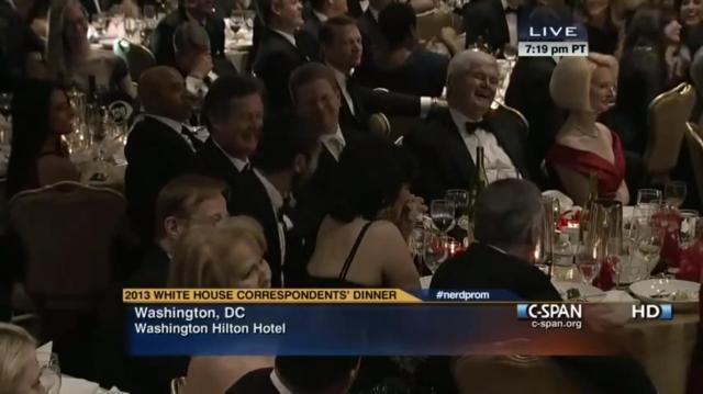 White House Correspondence Dinner 2013-5