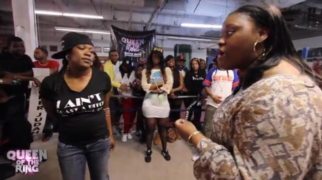 Chayna Ashley vs E Hart 2