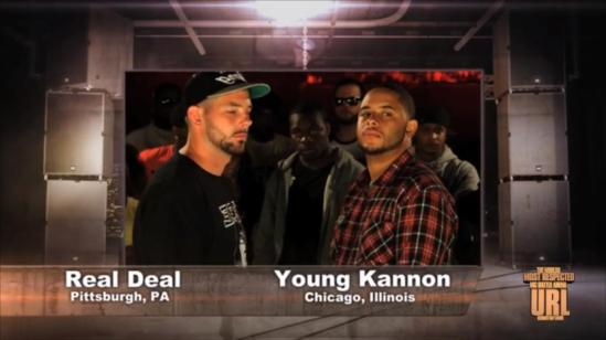 Real Deal vs Young Kannon 1