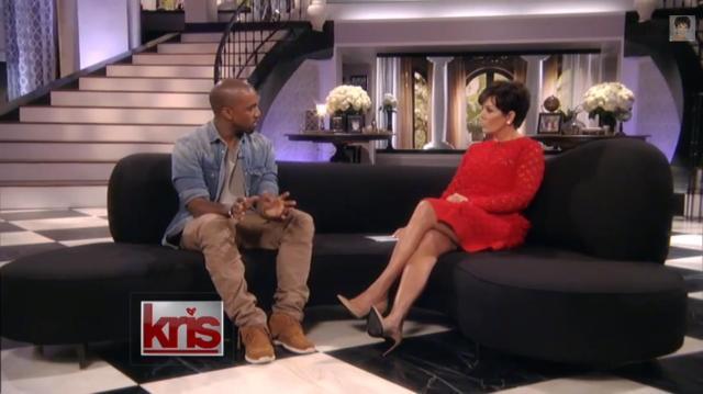 Kanye West Kris Jenner1