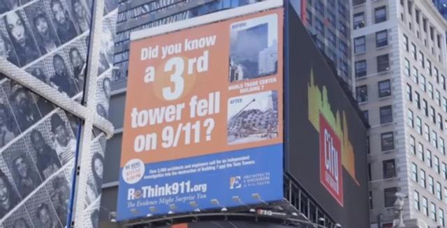 Rethink 911 sign