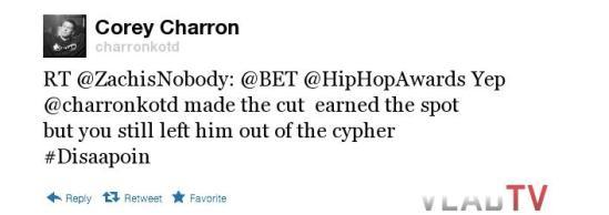 Charron Tweet 1