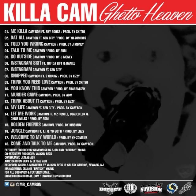 Ghetto Heaven cover 1