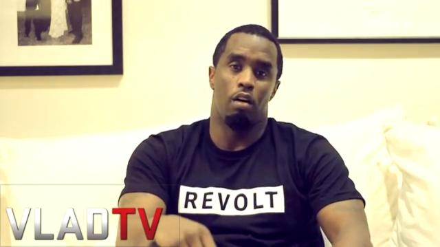 P Diddy on VLADTV