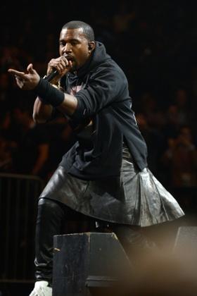 Kanye West Kilt