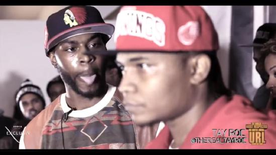 SMACK/URL Battle: TAY ROC vs JC | You Like Battle Rap Right?