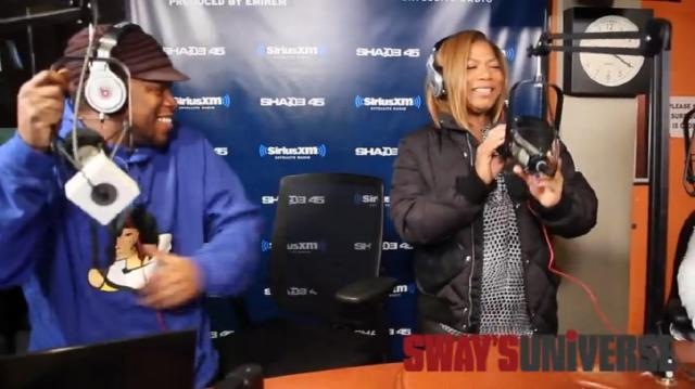 Queen Latifah on Sway