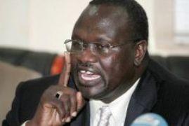 Riek Machar, former Vice President of South Sudan