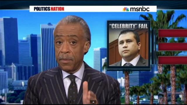 Al Sharpton George Zimmerman