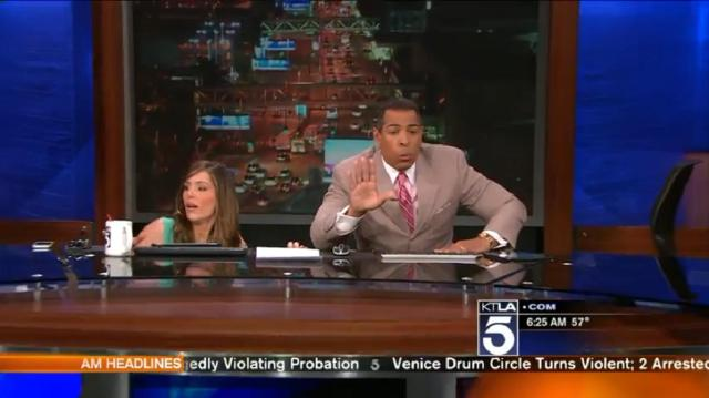 KTLA Earthquake