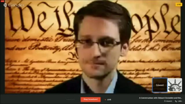 Snowden Interview SXSW 2