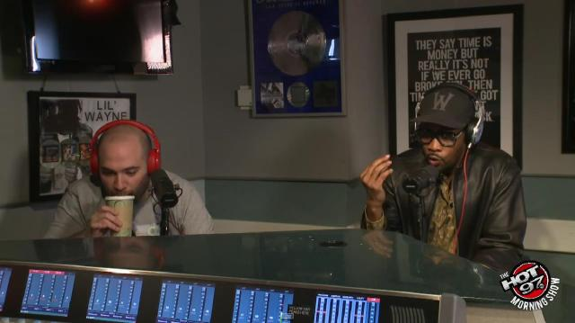 Rza at HOT97