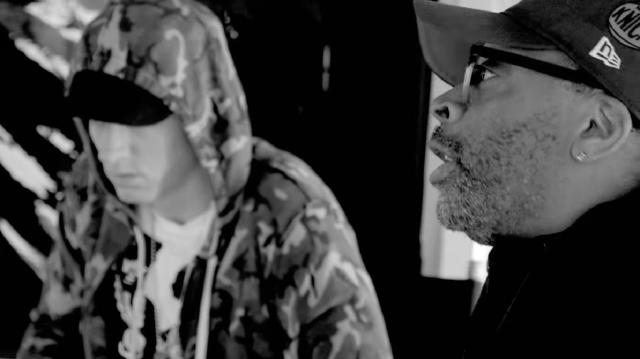 Spike Lee and Eminem