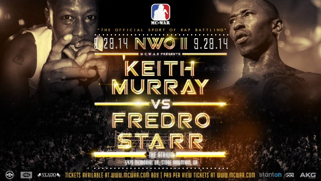 Keith Murray vs Fredro